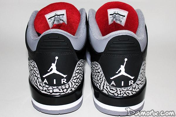 Sneakers - Air Jordan III (3) Black Cement