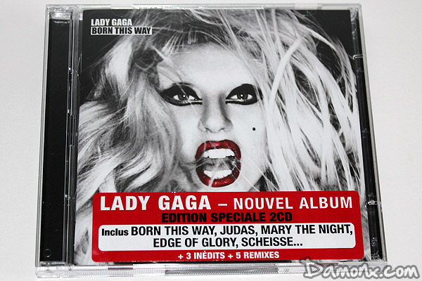 Lady Gaga Album Born This Way