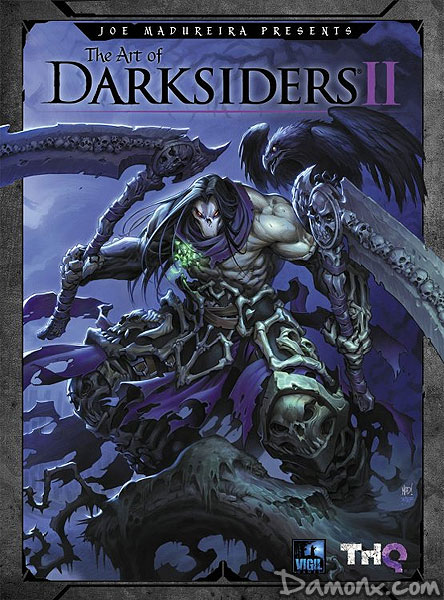 Artbook The Art of Darksiders II