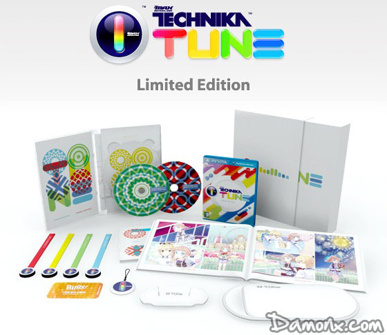 DJMAX Technika Tune Limited Edition PS Vita