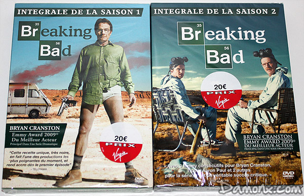 DVD Série Breaking Bad Saison 1 & 2