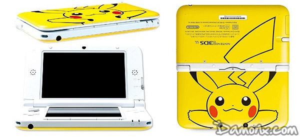 Pr commande console nintendo 3ds xl limit e jaune for 3ds xl pikachu achat