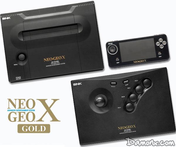 [Pré-commande] NEO-GEO X Gold Limited Edition