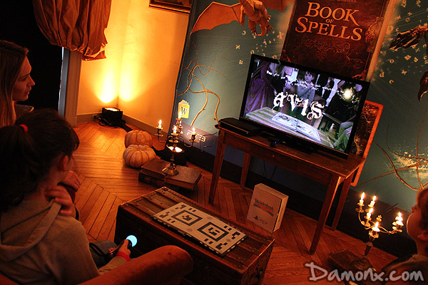 Wonderbook : Book of Spells sur PS3