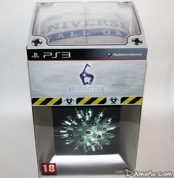 [Unboxing] Resident Evil 6 – Edition Collector PS3