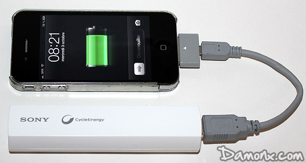 [Test] Chargeur Portable CP-ELSAIP Sony Cyberenergy