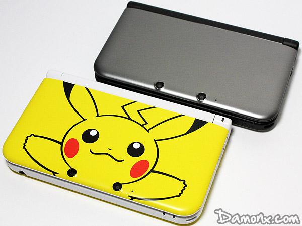 Unboxing console nintendo 3ds xl limit e jaune pikachu for Housse 3ds pokemon