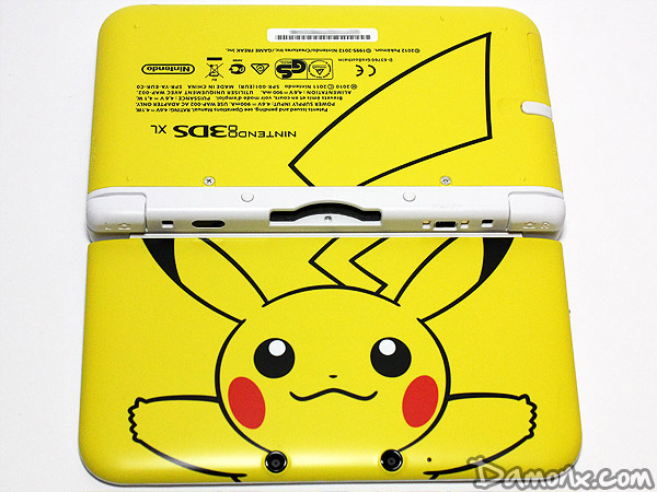 Console Nintendo 3DS XL Limitée Jaune Pikachu