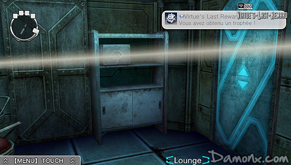 100e Trophée Platine : Zero Escape : Virtue's Last Reward