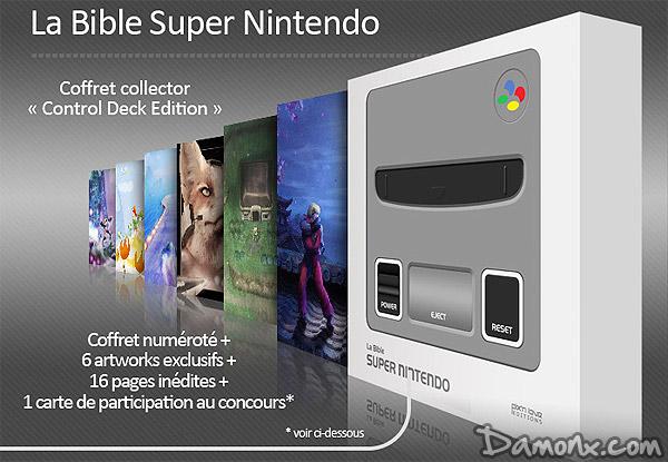 [Pré-commande] Bible Super Nintendo - Control Deck Edition