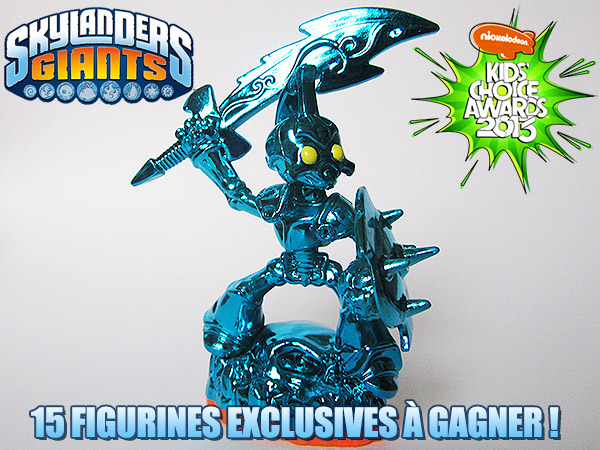 [Concours Skylanders] 15 Figurines Exclusives à Gagner !