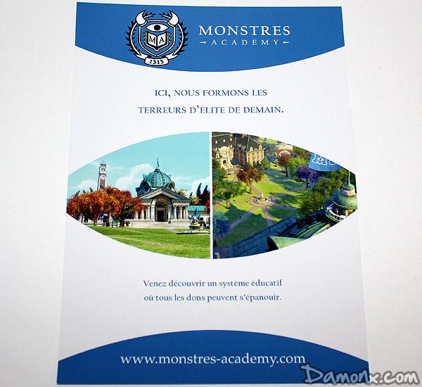 Buzz Kit Monstres Academy (Disney/Pixar)