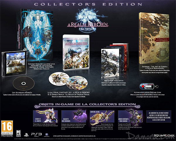 [Pré-co] Final Fantasy XIV : A Realm Reborn Collector's Edition PS3