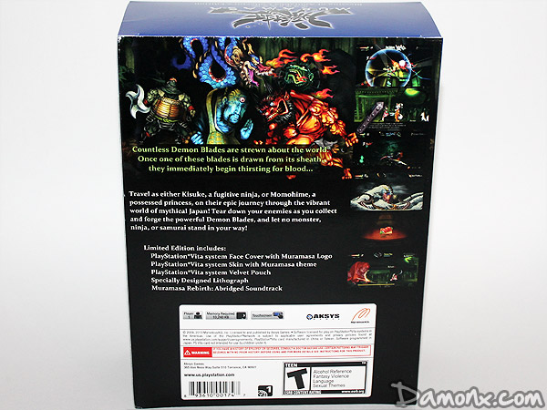 [Unboxing] Muramasa Rebirth Collector's Edition PS Vita