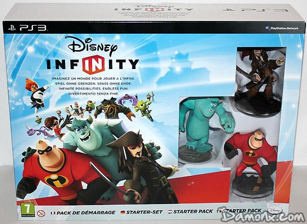 [Unboxing] Pack de Démarrage Disney Infinity