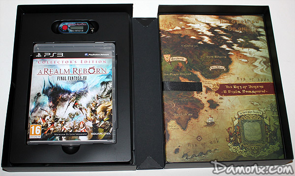 [Unboxing] Final Fantasy XIV : A Realm Reborn - Edition Collector PS3