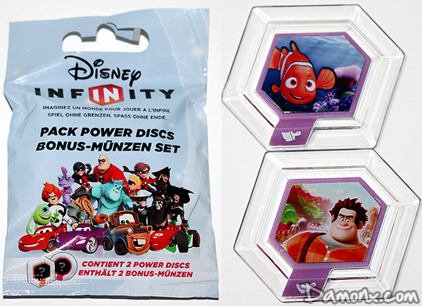Disney Infinity Power Discs Exclusifs Peter Pan et Picsou