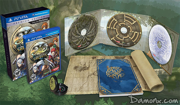 [Pré-co] Ys: Memories of Celceta Silver Anniversary Edition sur PS Vita