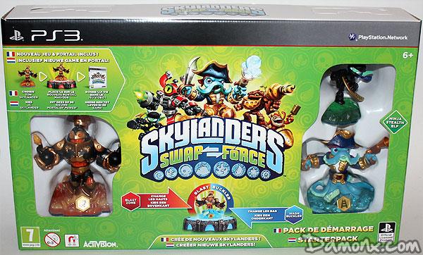 [Unboxing] Pack de Démarrage Skylanders Swap-Force