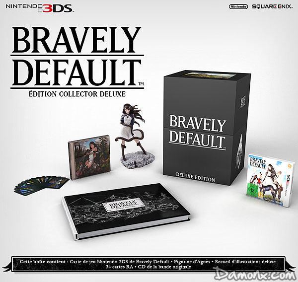 [Pré-co] Bravely Default - Edition Collector sur 3DS