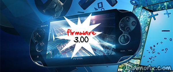 PS Vita – Mise à Jour Firmware 3.00