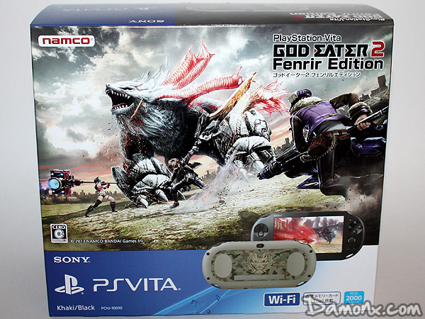 [Unboxing] Console PS Vita God Eater 2 Fenrir Edition