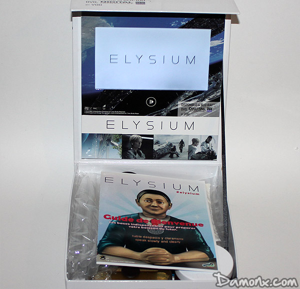 Press Kit du Blu Ray Elysium