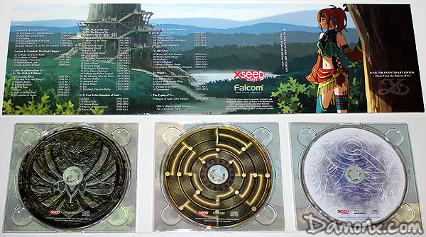Ys: Memories of Celceta Edition Collector Silver Anniversary PS Vita