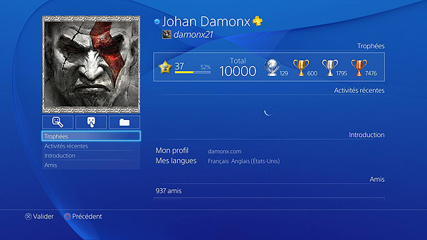 10 000 Trophée PS3, PS4, PS Vita