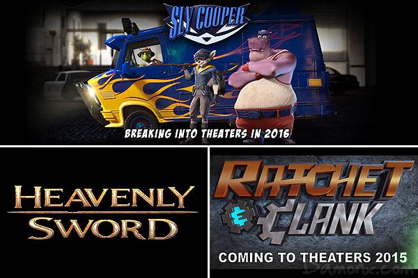 Les Licences PlaySation Arrivent au Cinéma