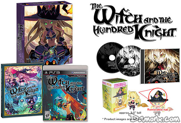 The Witch and the Hundred Knight - Limited Edition PS3