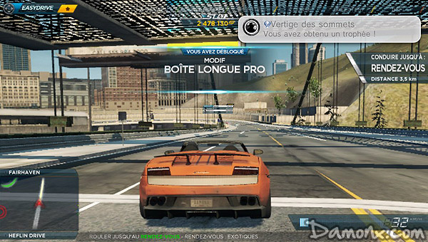 Need for Speed Most Wanted sur PS Vita