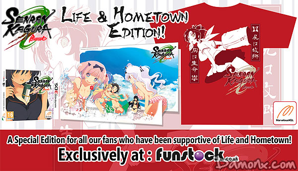 Senran Kagura Burst - Life and Hometown Edition sur 3DS