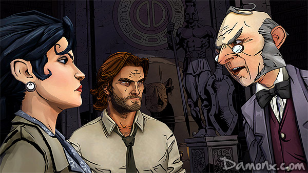 The Wolf Among Us - Episode 1 sur PS3