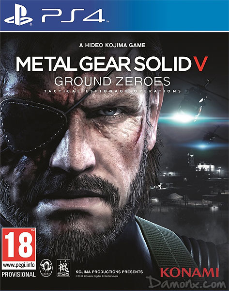 Metal Gear Solid V - Ground Zeroes sur PS4