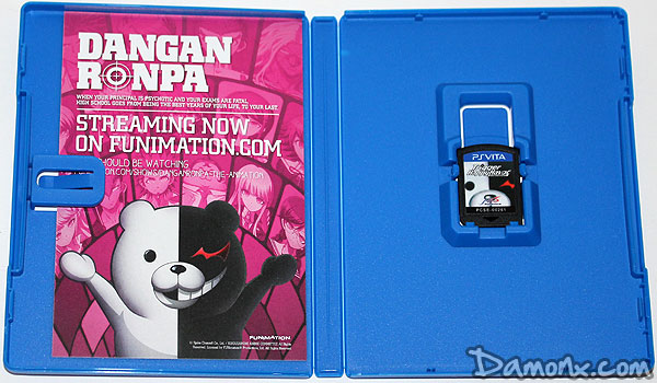 Unboxing Danganronpa Limited Edition sur PS Vita