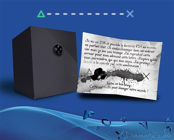 Indice pour le #CoffrePS4 : Gagnez une PS4, une PS Vita et des Jeux