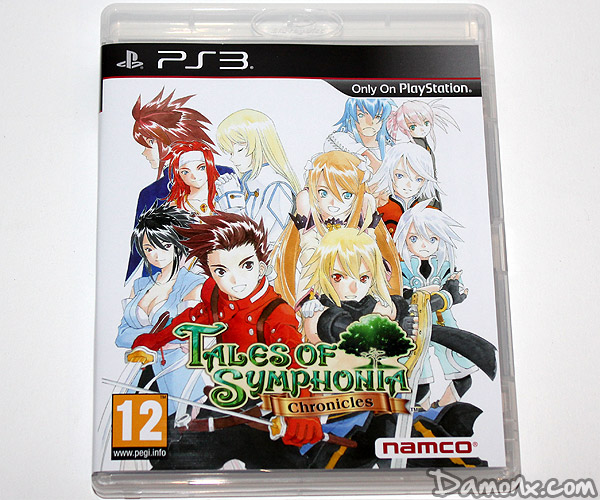 [Unboxing] Tales of Symphonia Chronicles – Collector's Edition PS3