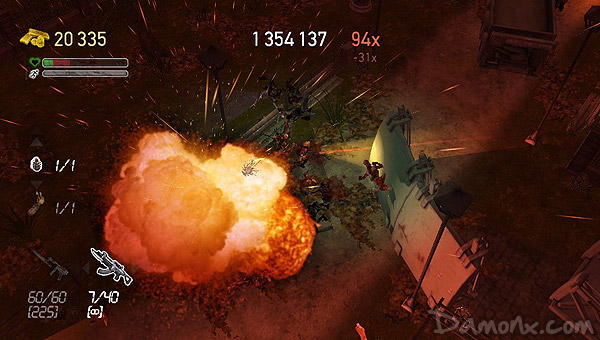 [Test Express] Dead Nation : sur PS Vita