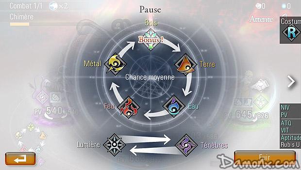 Destiny of Spirits sur PS Vita