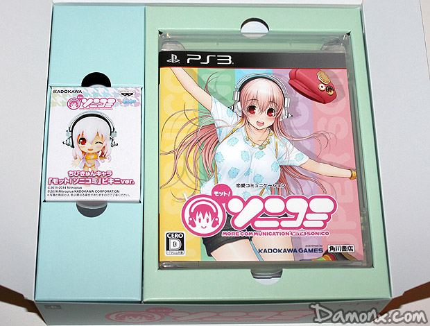 [Unboxing] Motto! SoniComi Limited Edition PS3