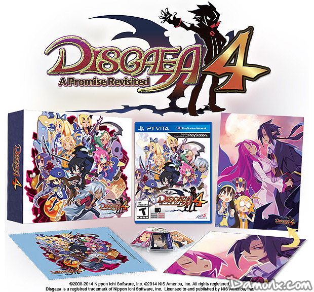 [Pré-co] Disgaea 4: A Promise Revisited Limited Edition sur PS Vita