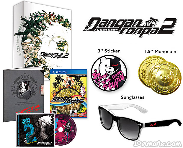 Danganronpa 2 : Goodbye Despair Limited Edition sur PS Vita