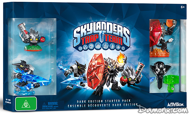 Pr co skylanders trap team pack de d marrage dark edition commandes - Tous les skylanders ...
