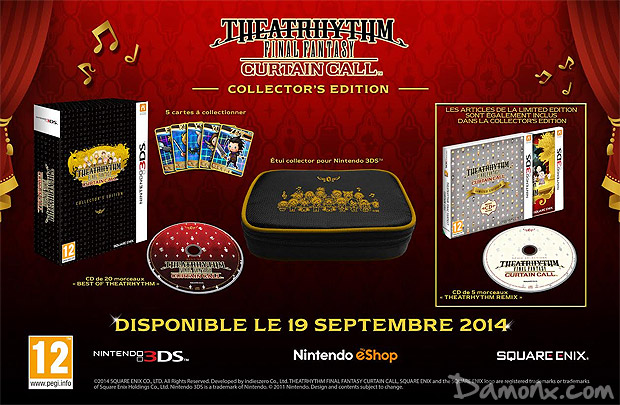 [Pré-co] Theatrhythm Final Fantasy Curtain Call - Collector's Edition