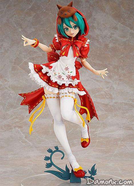 Figurine Hatsune Miku Project DIVA 2nd : Mikuzukin 1/7