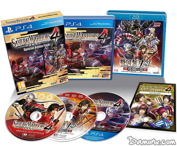 [Pré-co] Samurai Warriors 4 - Edition Anime sur PS4