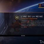 [Destiny] Evénement Temporaire : L'Ire de la Reine