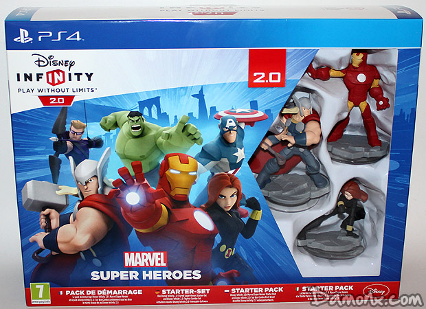 Disney Infinity 2.0 : Marvel Super Heroes Edition Collector