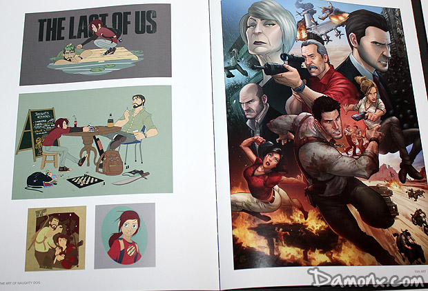 Artbook The Art of Naughty Dog